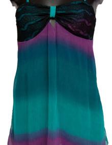 Minislip ♦ Front ♦ Silk Chiffon & Soft Lace