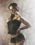 Sublime Seduction - Amour Secret - Corset - 300 Black/Red
