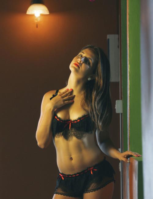 Amour Secret - Black lace res ribbon- Sublime seduction Lingerie