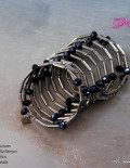 Sublime seduction Black Twisted wire Bracelet