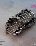 Sublime seduction Black Twisted wire Bracelet