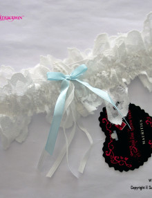 lace blue ribbon